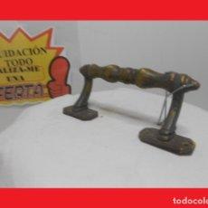 Antigüedades: ANTIGUO POMO TIRADOR O MANILLA EN BRONCE O LATÓN (IDEALES PARA RESTAURACIÓN) 100% ORIGINALES. Lote 140173622
