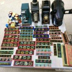 Antigüedades: CUATRO LINTERNAS DE 1900/1940. Lote 140198922