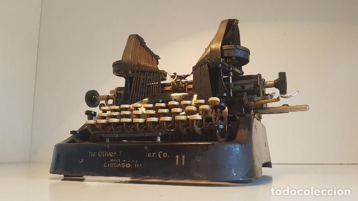 Antigüedades: Oliver No.11, maquina de escribir de los años 20, fabricada en los EEUU - ver video ! - Foto 3 - 140243770