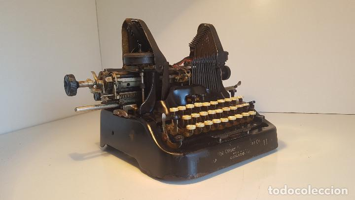Antigüedades: Oliver No.11, maquina de escribir de los años 20, fabricada en los EEUU - ver video ! - Foto 5 - 140243770