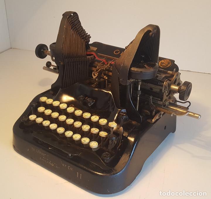 Antigüedades: Oliver No.11, maquina de escribir de los años 20, fabricada en los EEUU - ver video ! - Foto 10 - 140243770
