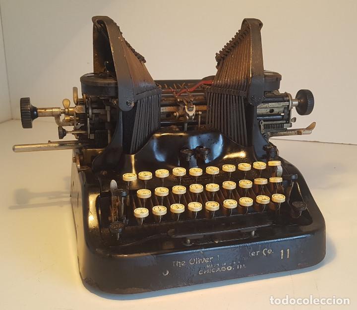 Antigüedades: Oliver No.11, maquina de escribir de los años 20, fabricada en los EEUU - ver video ! - Foto 12 - 140243770