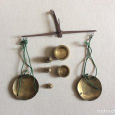 Antigüedades: BALANZA DE PRECISION. Lote 140250634