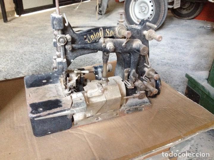 MAQUINA DE COSER INDUSTRIAL (Antigüedades - Técnicas - Máquinas de Coser Antiguas - Otras)