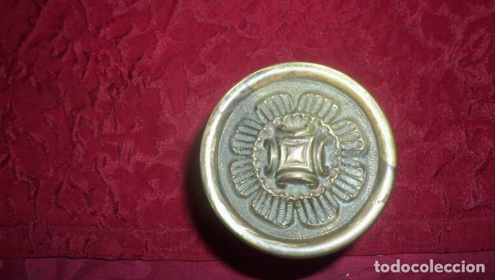 Antigüedades: TIRADOR DE PUERTA ANTIGUO - Foto 4 - 140306858