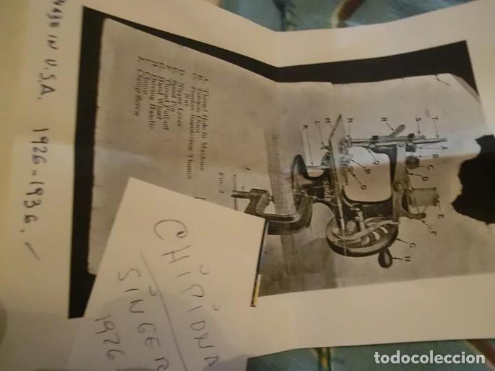 Antigüedades: SINGER MAQUINA DE COSER INFANTIL AÑOS 20-30.con video - Foto 6 - 140315882
