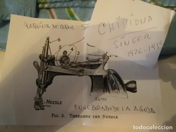 Antigüedades: SINGER MAQUINA DE COSER INFANTIL AÑOS 20-30.con video - Foto 7 - 140315882