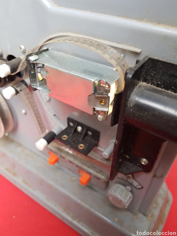 Antigüedades: Proyector 8mm. Triple acción Hanipet s - Foto 2 - 140362164