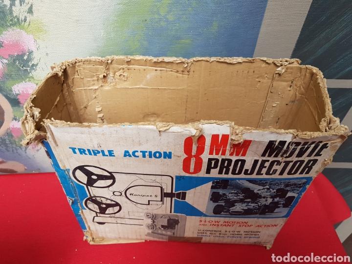 Antigüedades: Proyector 8mm. Triple acción Hanipet s - Foto 5 - 140362164