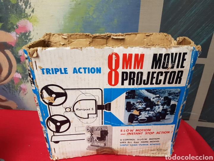 Antigüedades: Proyector 8mm. Triple acción Hanipet s - Foto 6 - 140362164