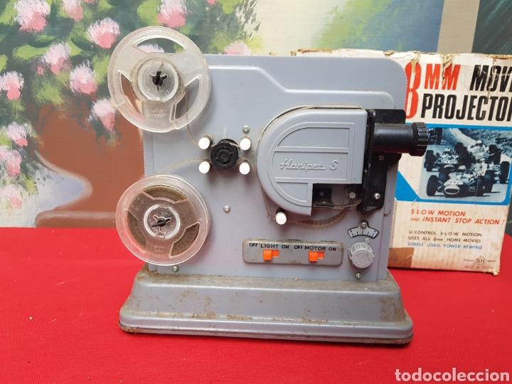 Antigüedades: Proyector 8mm. Triple acción Hanipet s - Foto 3 - 140362164