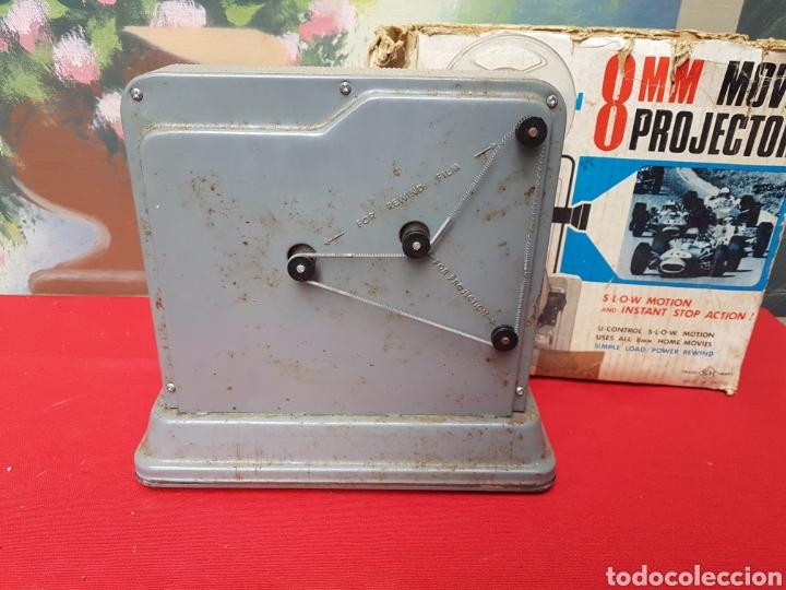 Antigüedades: Proyector 8mm. Triple acción Hanipet s - Foto 4 - 140362164