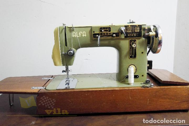 MÁQUINA DE COSER ALFAMATIC 103 (Antigüedades - Técnicas - Máquinas de Coser Antiguas - Alfa)