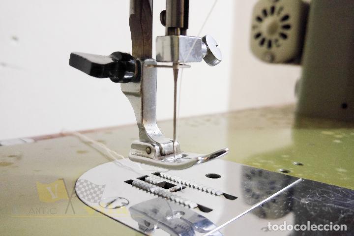 Antigüedades: Máquina de coser Alfamatic 103 - Foto 6 - 140373614