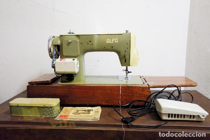 Antigüedades: Máquina de coser Alfamatic 103 - Foto 8 - 140373614
