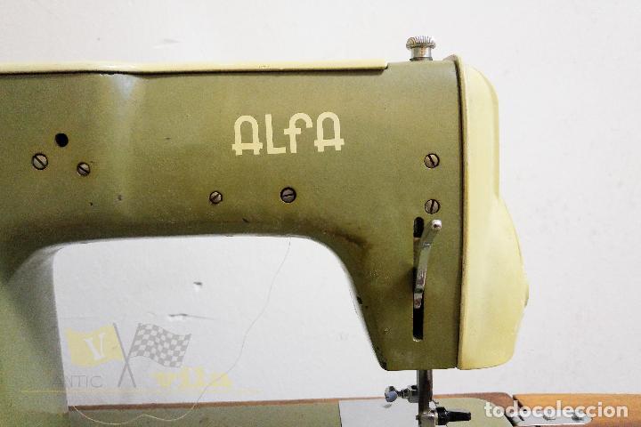 Antigüedades: Máquina de coser Alfamatic 103 - Foto 9 - 140373614