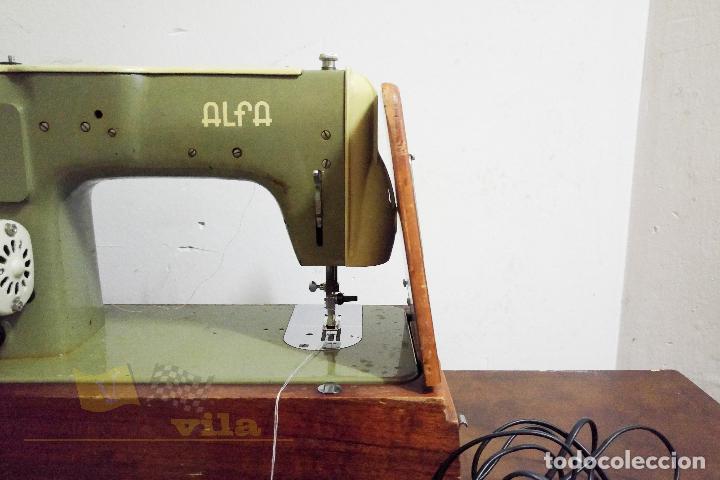 Antigüedades: Máquina de coser Alfamatic 103 - Foto 14 - 140373614