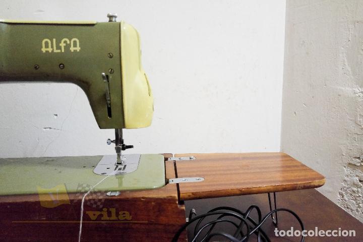 Antigüedades: Máquina de coser Alfamatic 103 - Foto 15 - 140373614