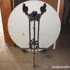 Antigüedades: MACETERO MODERNISTA DE HIERRO FORJADO. Lote 140384110