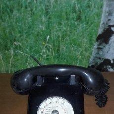 Teléfonos: ANTIGUO TELÉFONO DE BAQUELITA (MARCA TÉLIC). Lote 140399166
