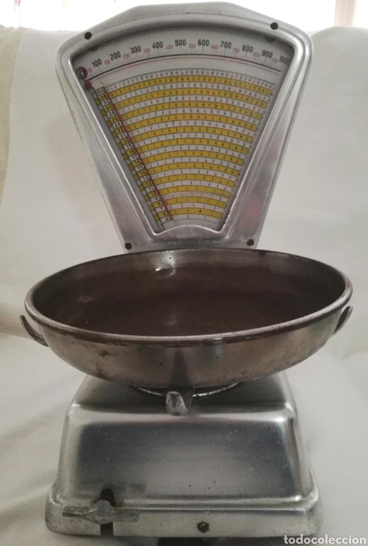 ANTIGUA BASCULA MOBBA 3 KG. (Antigüedades - Técnicas - Medidas de Peso - Básculas Antiguas)