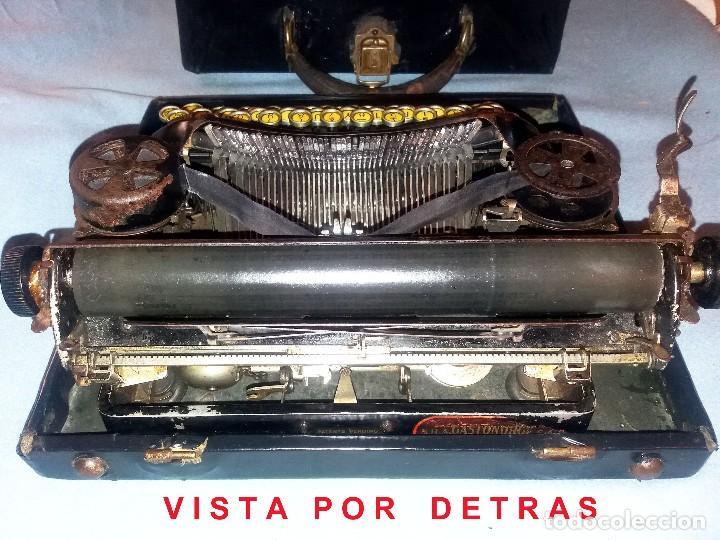 Antigüedades: ANTIGUA MÁQUINA DE ESCRIBIR PORTÁTIL SMITH CORONA Nº4. CIRCA 1924. CON MALETÍN Y FUNCIONANDO. - Foto 5 - 140412506