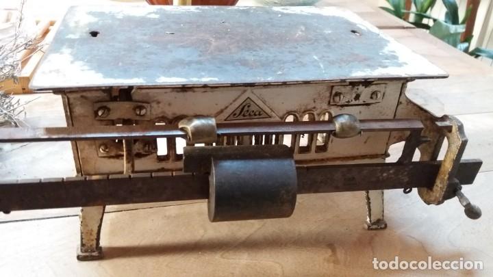 BÁSCULA PRINCIPIOS DE SIGLO MARCA SECA (Antigüedades - Técnicas - Medidas de Peso - Básculas Antiguas)