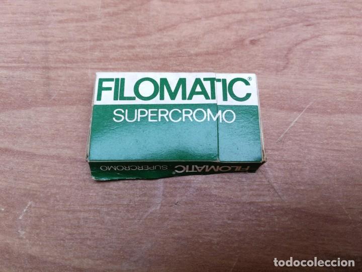 CAJA SIN ABRIR 5 HOJAS DE AFEITAR FILOMATIC SUPERCROMO (Antiquitäten - Technische - Barbier-Utensilien - Antike Rasierklingen)