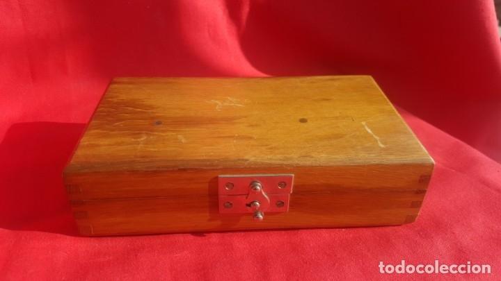 Antigüedades: Caja de madera con material médico Sass Wolf & CO. G.m.b.H. Berlin. - Foto 5 - 42607855