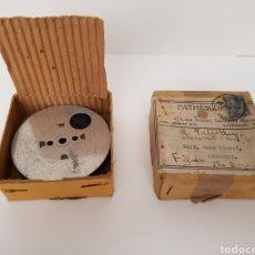 Antigüedades: INEDITO Y MUY RARO - CINTA GRAVADA DEL DUQUE DE YORK INAUGURANDO PUENTE. PHATHESCOPE 9,5 MM.. Lote 140715437