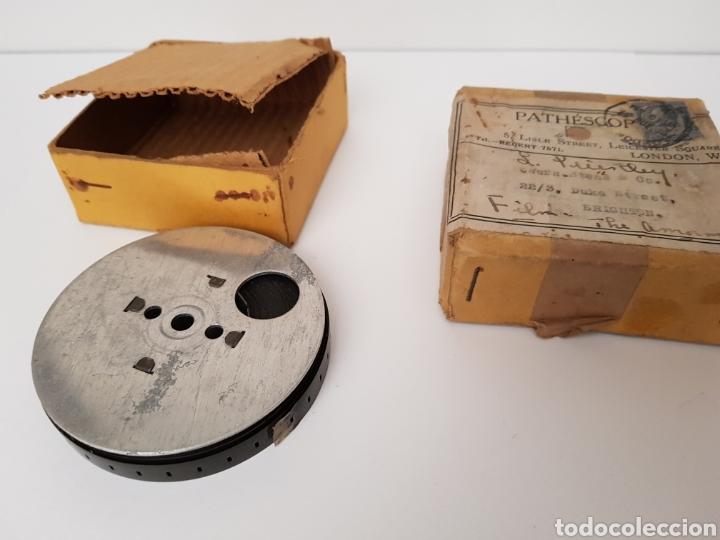 Antigüedades: INEDITO Y MUY RARO - CINTA GRAVADA DEL DUQUE DE YORK INAUGURANDO PUENTE. PHATHESCOPE 9,5 mm. - Foto 3 - 140715437