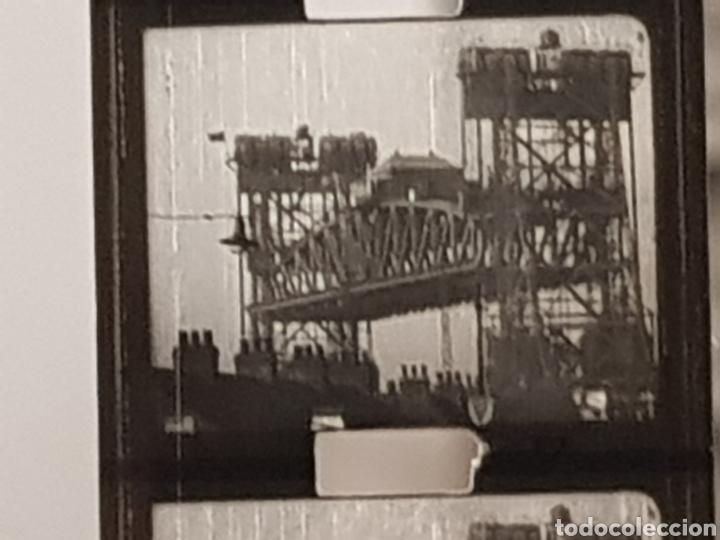 Antigüedades: INEDITO Y MUY RARO - CINTA GRAVADA DEL DUQUE DE YORK INAUGURANDO PUENTE. PHATHESCOPE 9,5 mm. - Foto 6 - 140715437
