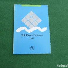 Teléfonos: LIBRO DE TELEFÓNICA, BARCELONA 1992. Lote 140726150