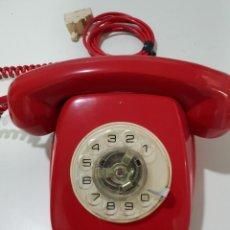Teléfonos: TELEFONO HERALDO ROJO SOBREMESA VINTAGE EXCELENTE ESTADO CONSERVACION FUNCIONA PERFECTO. Lote 140737646