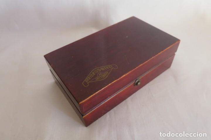 Antigüedades: caja de pesas de precision marca Sartorius - Foto 3 - 140767906