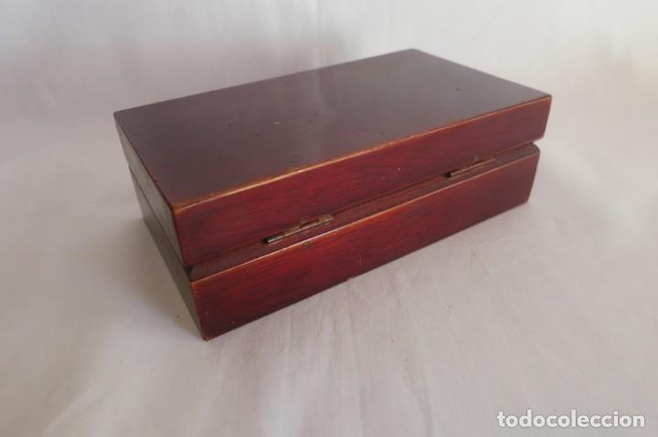 Antigüedades: caja de pesas de precision marca Sartorius - Foto 4 - 140767906