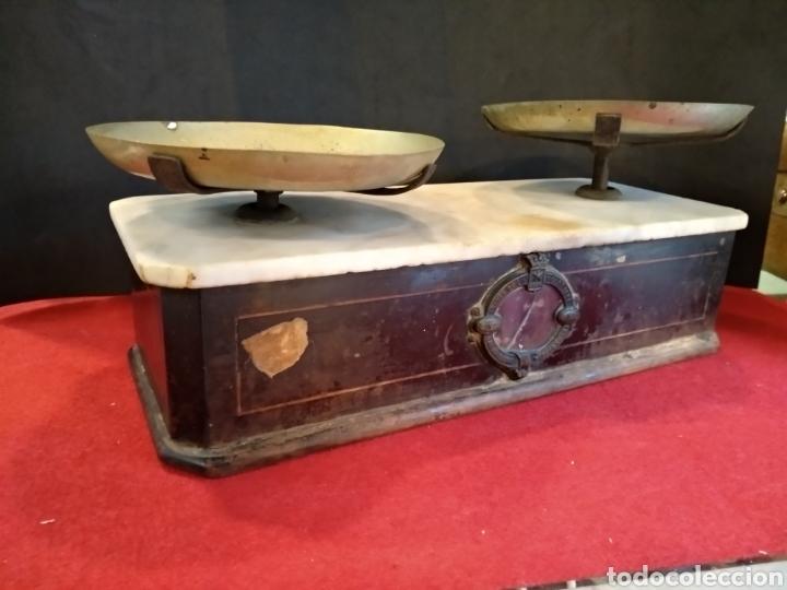 BALANZA DE FARMACIA S.XIX BERANGER (Antigüedades - Técnicas - Medidas de Peso - Balanzas Antiguas)