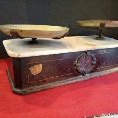 Antigüedades: BALANZA DE FARMACIA S.XIX BERANGER. Lote 140848504