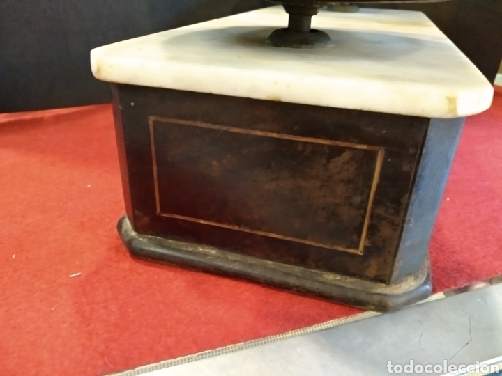 Antigüedades: Balanza de farmacia S.XIX BERANGER - Foto 6 - 140848504