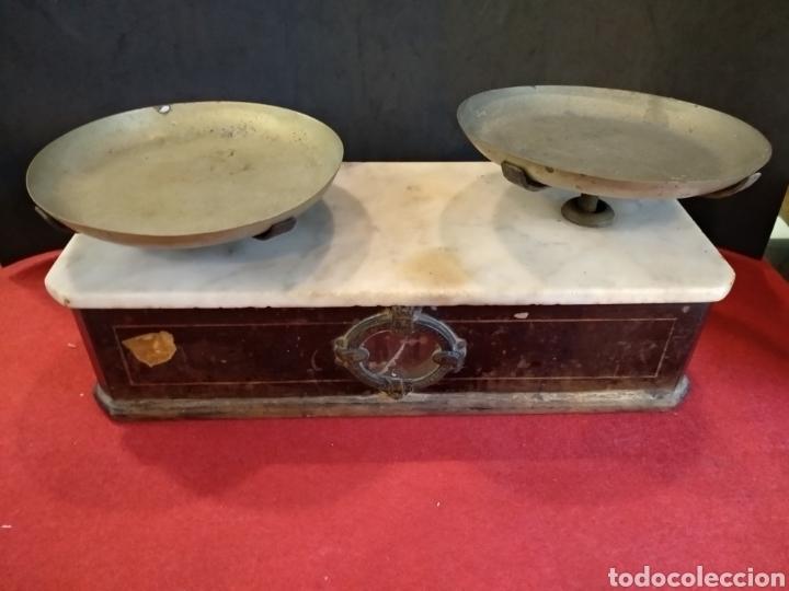 Antigüedades: Balanza de farmacia S.XIX BERANGER - Foto 7 - 140848504