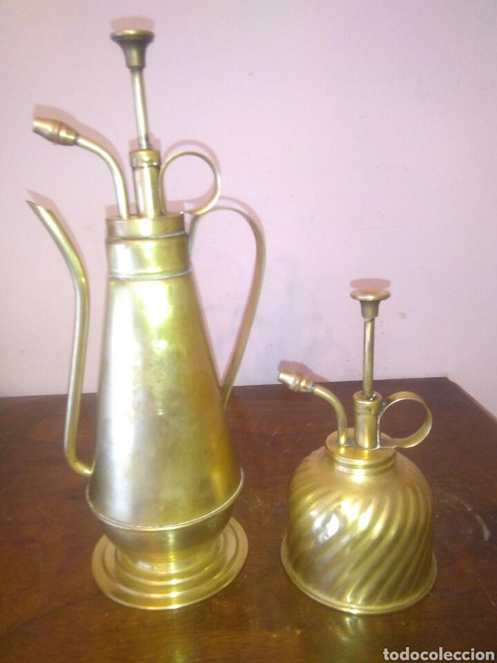 ANTIGUOS PULVERIZADORES DE LATON (Antiquitäten - Technische - Professionelle Werkzeuge - Andere Berufe)