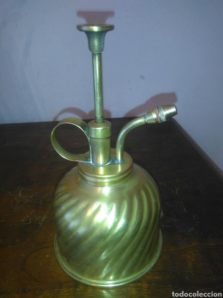 Antiquitäten: ANTIGUOS PULVERIZADORES DE LATON - Foto 5 - 140868946