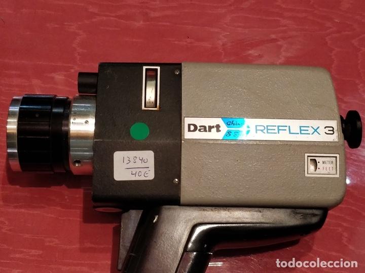 TOMAVISTAS DART REFLEX 3 CHINON SUPER 8. (Antigüedades - Técnicas - Aparatos de Cine Antiguo - Cámaras de Super 8 mm Antiguas)
