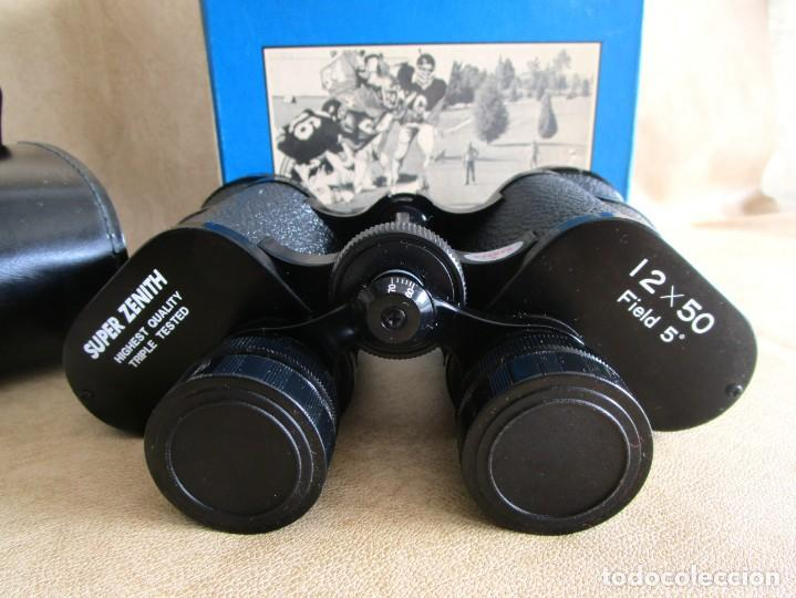 Antigüedades: prismaticos super zenith 12 x 50 field 5 - Foto 3 - 141108010