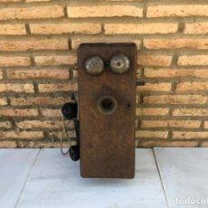 Teléfonos: TELÉFONO DE MADERA. Lote 141171198