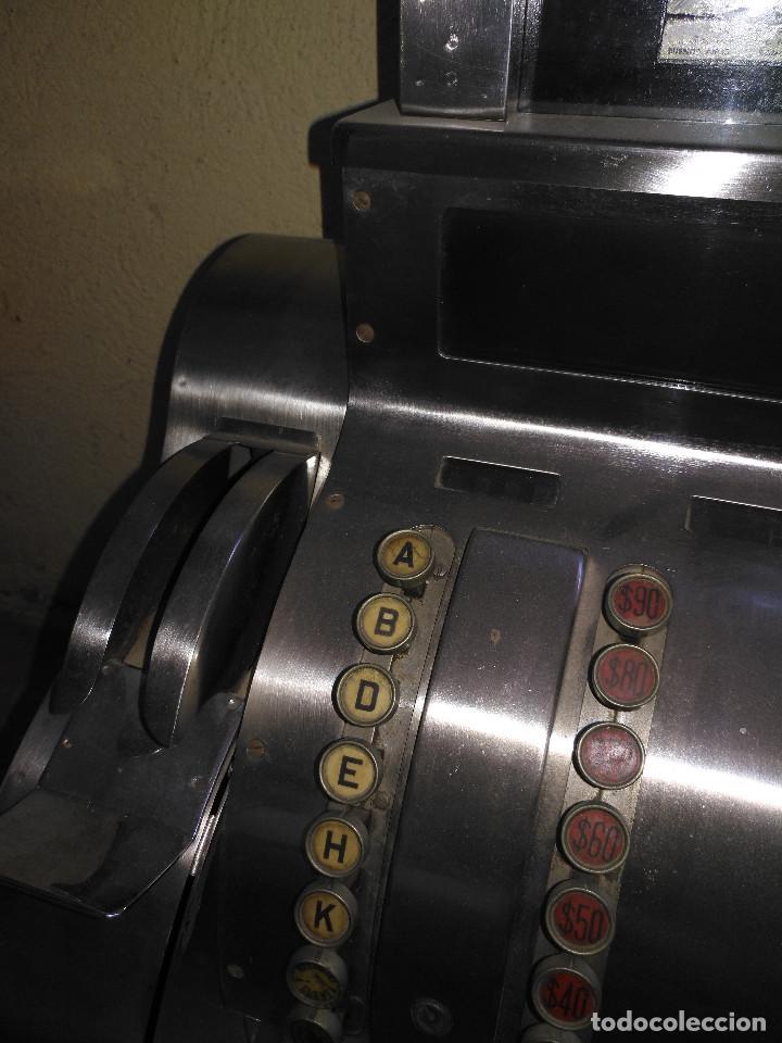 Antigüedades: Maquina registradora en funcionamiento. - Foto 2 - 141201814