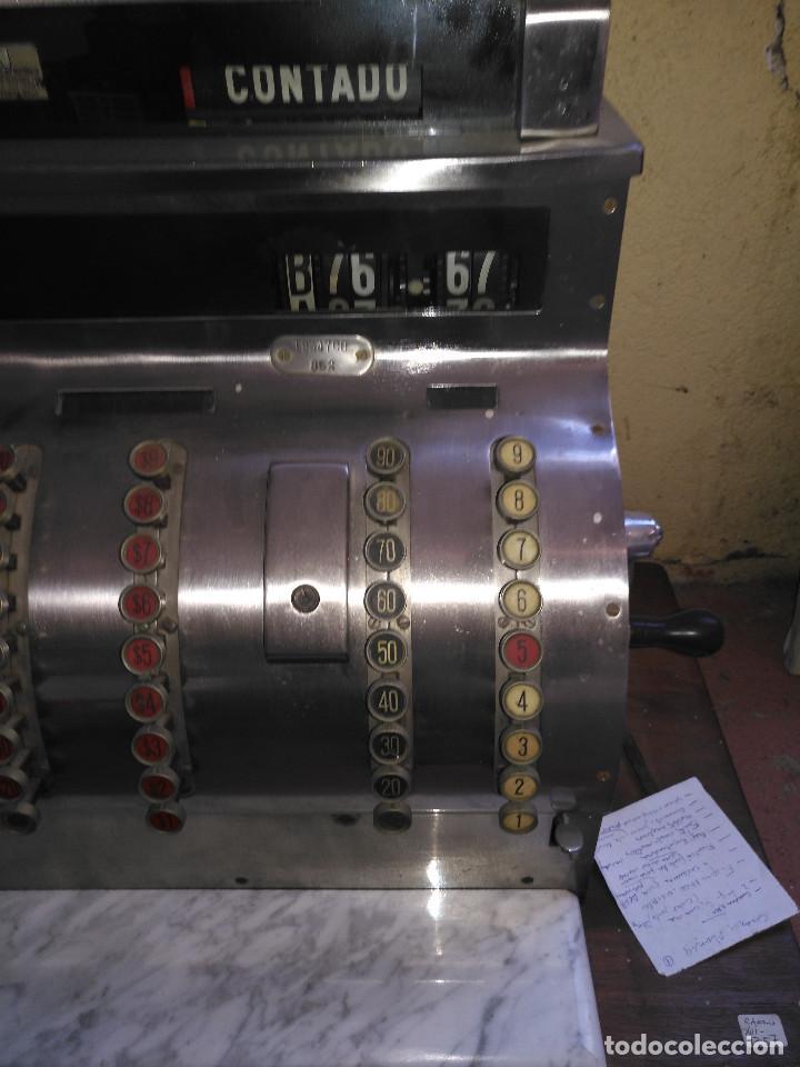 Antigüedades: Maquina registradora en funcionamiento. - Foto 4 - 141201814