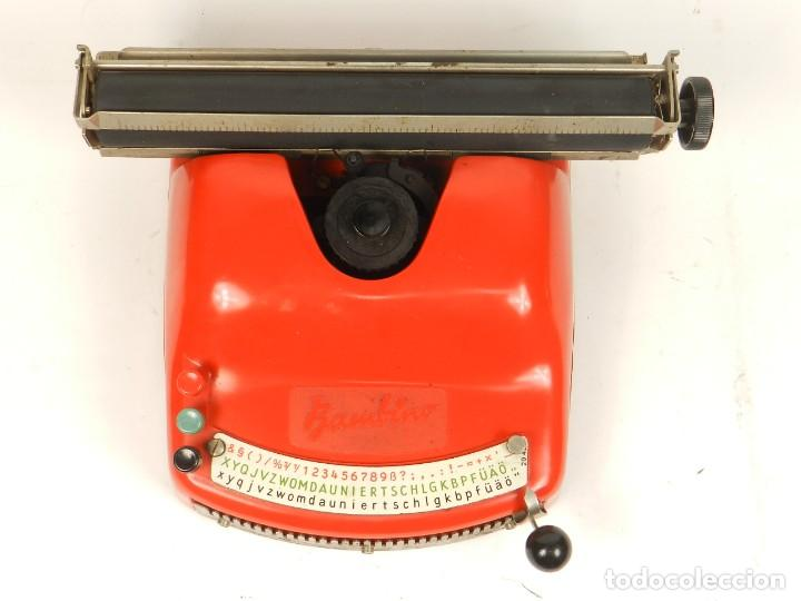 Antigüedades: Antigua máquina de escribir Bambino, año 1954 - Foto 4 - 141222282