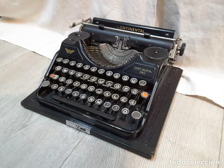 MÁQUINA DE ESCRIBIR CONTINENTAL. AÑOS 30 (Antigüedades - Técnicas - Máquinas de Escribir Antiguas - Continental)
