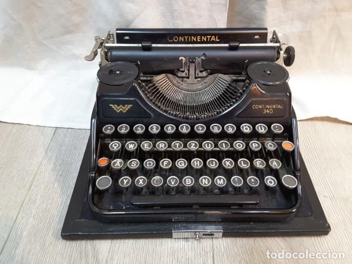 Antigüedades: Máquina de escribir Continental. Años 30 - Foto 2 - 141224930